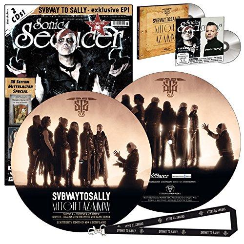 Sonic Seducer 03-2015 limited Edition + exkl. Picture-Vinyl zum Album Mitgift von Subway To Sally (499 Ex.) + 2 CDs, u.a. eine exkl. EP + Lanyard + Mittelalter-Special u.v.m.