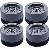 Tampons À Pied Machine À Laver, Anti Vibration Machine à Laver Pieds Stabilisateur Piédestal, Tapis antidérapant Amortisseur