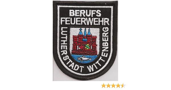 Feuerwehr Berufsfeuerwehr Lutherstadt Wittenberg Uniform Abzeichen Aufnäher Auto