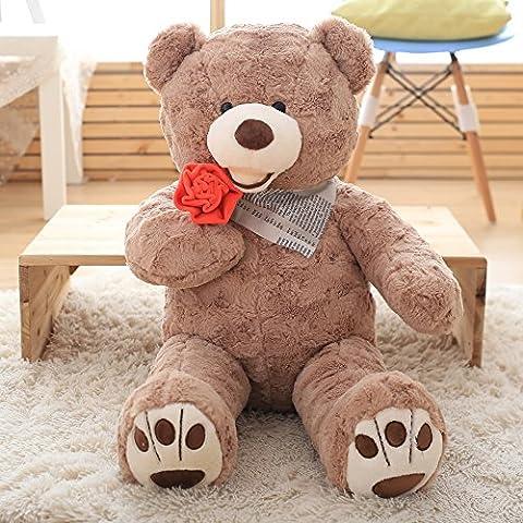 VERCART Jouet Enfant Ours en Peluche Nounours Teddy Bear Cadeau