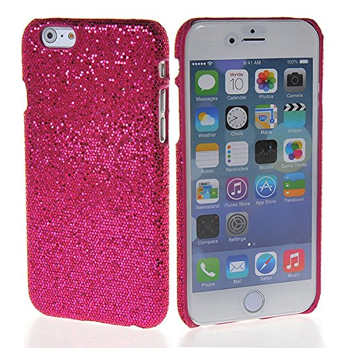 iPhone 6Fall, coolke Luxus Glitzer Haut Fall hart, Cover aus Kunststoff stark Armor für APPLE IPHONE 6(11,9cm), plastik, schwarz, Apple iPhone 6 Magenta