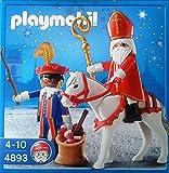 Playmobil 4893 San Nicolás y Knecht Ruprecht con el caballo