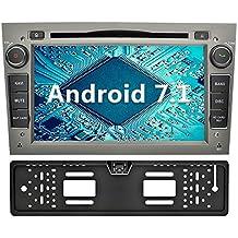 YINUO 7 Pulgadas 2 Din Radio GPS Android 7.1.1 Nougat 2GB RAM Quad Core Pantalla Táctil Estéreo Reproductor De DVD Multimedia Coche GPS Navegador HD 1024*600 Para OPEL Vauxhall Astra (2004-2009) / Antara (2006-2011) / Vectra (2005-2008) / Corsa (2006-2010) / Zafira (2006-2010) / Meriva (2006-2008) / Vivaro (2006-2010) Soporte DAB/ Control Del Volante Bluetooth/ AV-IN/ 1080p (Autoradio con cámara trasera 4)