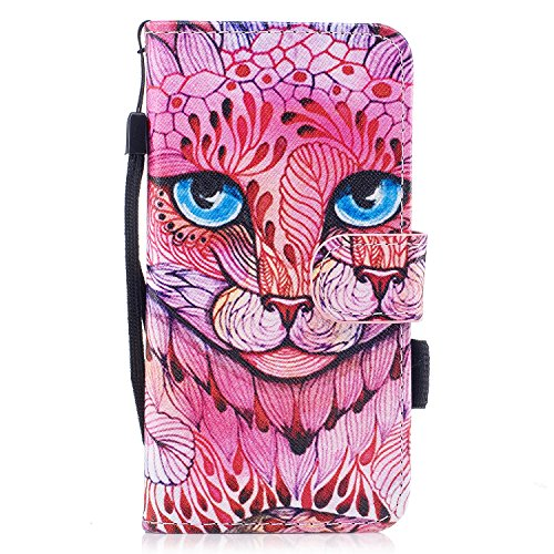 Protective Case Cover for iPhone X,iPhone X Coque PU Leather,iPhone X Neo Case,Hpory élégant Retro PU Cuir Cover Case Book Style Folio Flip Up Stand Fonction Support PU Leather Walllet Case with Credi 14#