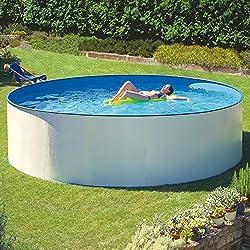 Piscina de acero Gre Splasher Ø 350 x 120 cm