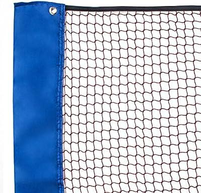 Senston Deportes Portátil Formación redes de bádminton,Exteriores e interiores Ligero redes de bádminton para la Formación y Match