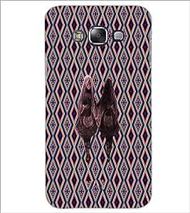 PrintDhaba Mirror Girl D-5734 Back Case Cover for SAMSUNG GALAXY A7 (Multi-Coloured)