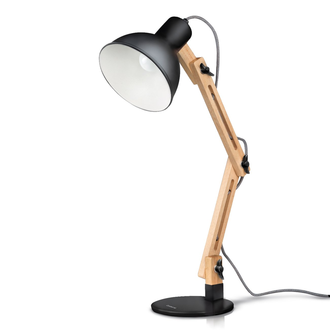Flexible table lamp home office study reading desk light flexible table lamp home office study reading desk light adjustable black style mozeypictures Gallery