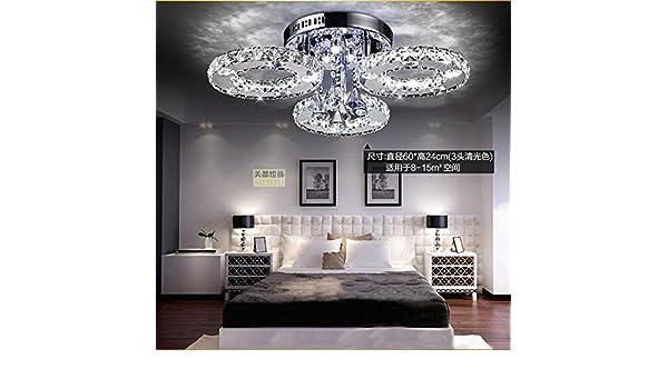 Kristall leuchte decken wohnzimmer lampe runde schlafzimmer