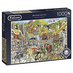 Jumbo- Britain United Puzzle de 1000 Piezas (11197.0)