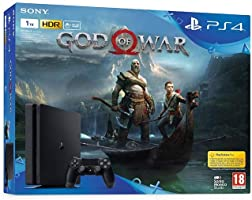 Sony PlayStation 4 1TB Oyun Konsolu ve God of War