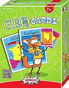 AMIGO 04770 - GeoCards, Kartenspiel