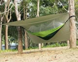 Airand Camping Hamaca Ultra Ligera con mosquitera y 3x 3m Tienda Lona portátil