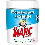 St Marc Bicarbonate de Soude Nettoyant Multi-Usage 100% D'Origine Naturelle, 3 x 500g