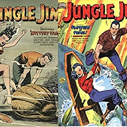 Jungle Jim. Issues 13 and 14. Flowers of Peril. Mystery Island. Golden Age digital comics (English Edition) par [Heroes and Heroine Comics, Golden Age]