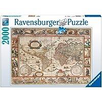 Ravensburger 16633 Mappamondo 1650 Puzzle 2000 pezzi