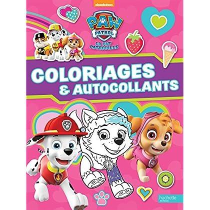 Paw Patrol-La Pat'Patrouille - Coloriages et autocollants 'spécial filles'