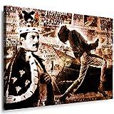Freddie Mercury–Queen–quadro su tela 80x 60cm Nr. 5599778K. poster–Già montato su telaio. Pop Art pittura arte stampe, quadri–immagini per la decorazione–decorazione. Musica Stars arte stampe