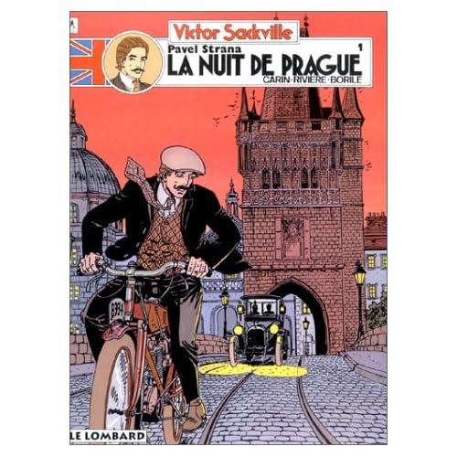 Victor Sackville - tome 7 - Pavel Strana T1 : La nuit de Prague