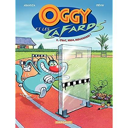 Oggy et les  Cafards - tome 2 - Crac, Boum, Miaouuuuu