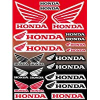 22 funda auto-adhesiva pegatinas - Honda Logo 28 x 39 cm