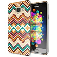 Samsung Galaxy A3 2016 Coque Protection de NICA, Housse Motif Silicone Portable Premium Case Cover Transparente, Ultra-Fine Souple Gel Slim Bumper Etui pour A3-16, Designs:Indian Pattern