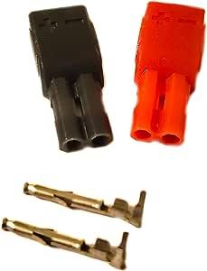 2 Stück Universal Heimkino Lautsprecherkabel Stecker Elektronik