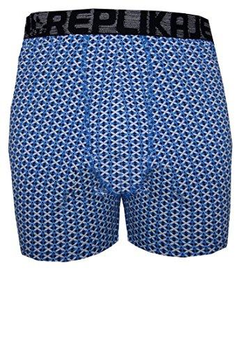 Replika -  Boxer  - Uomo blu XL