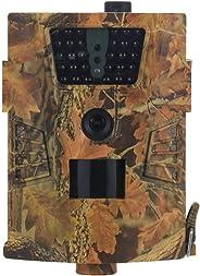 ZUHANGMENG Wildlife Trail Camera 1080P HD 850nm IR Caccia Camera Angolo 120° Wild Camera Caccia Scouting Cam con Infrared Ni
