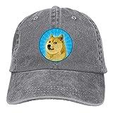 Wuciyu Cool Doge Washed Unisex Adjustable Baseball Cap Dad Hat