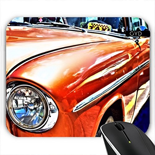 Mousepad - Kuba Taxi by Brian Raggatt