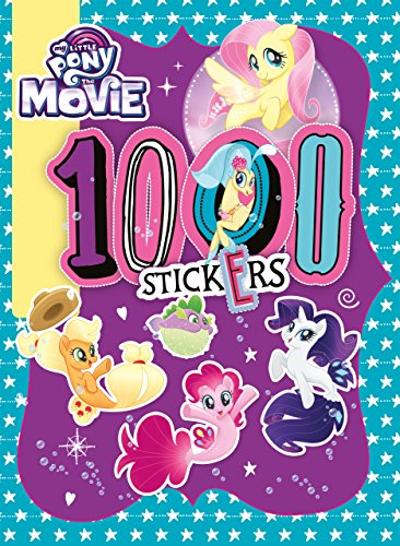 My Little Pony Movie: 1000 Sticker Activity Book por Egmont Publishing UK