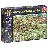 Jumbo 19022 - Jan Van Haasteren - Rasenmäherrennen 2000 Teile