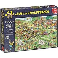 Jumbo 19022 - Puzzle, soggetto: La corsa
