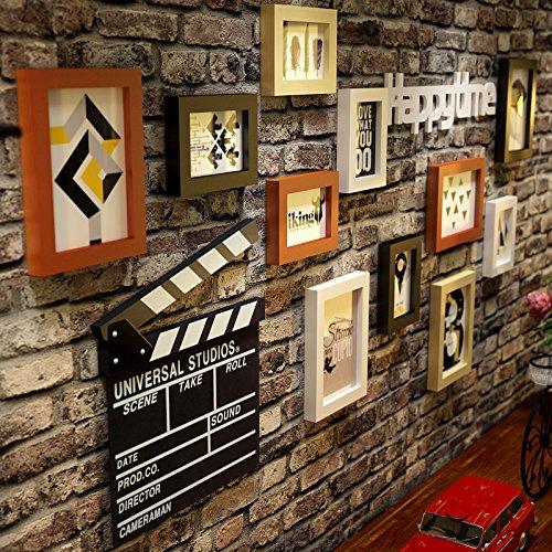 Unbekannt Dekorative Malerei damen Kleidung GeschäfteDas Wohnzimmer Wände in den Friseur Wandbild Wand antike Wandmalerei MassivholzDassDer Brief der 4-farb Lackierung+Wand DekorationDass