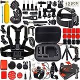Leknes, Kit accessori sport esterni bundle per telecamere e sj4000 / telecamere sj5000 e per gopro hero 4/3 + / 3/2/1 immagine