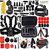 Leknes, Kit accessori sport esterni bundle per telecamere e sj4000 / telecamere sj5000 e per gopro hero 4/3 + / 3/2/1 - Leknes - amazon.it