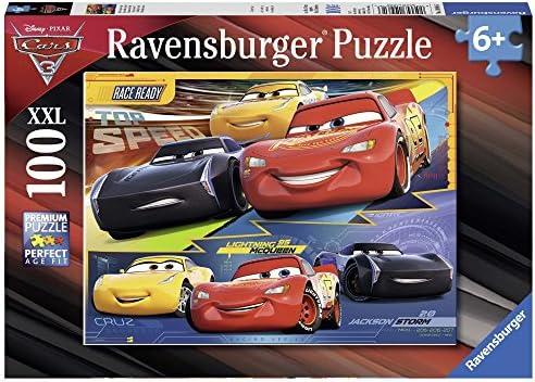 Ravensburger Ravensburger Ravensburger - 10961 - Puzzle - 100 Pièces - Duel de Champions; Cars 3 - Disney | Online Store  02cac7