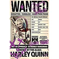 Póster Suicide Squad - Harley Quinn Wanted/Buscada (61cm x 91,5cm) + embalaje para regalo