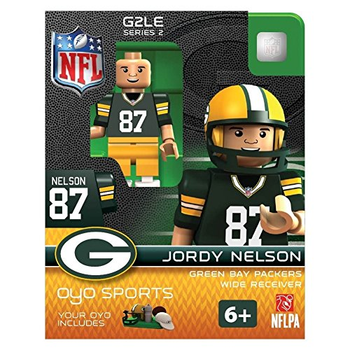 OYO Sportstoys NFL Jordy Nelson Green Bay Packers Minifigur Green Bay Packers Jordy Nelson