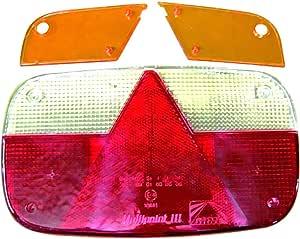 Aspöck Lichtscheibe Leuchtenkombination Multipoint Iii Heck Anhänger Gl 18 8480 Sport Freizeit