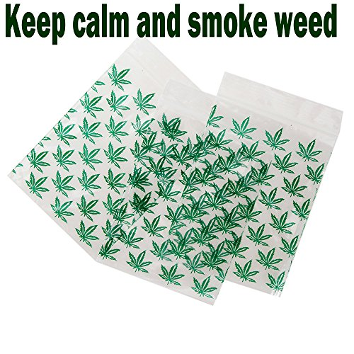 Weed Baggies Resealable grip Seal Bags 5 x 9 cm (5,1 x 8,9 cm) 5 x 9 White