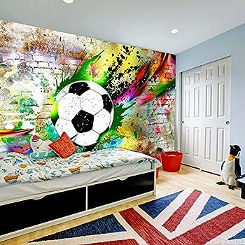 murando - Fototapete Fussball 400x280 cm - Vlies Tapete - Moderne ...