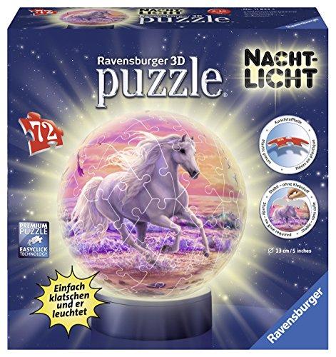 Ravensburger-3D-Puzzle-11843-Pferde-Am-Strand-Nachtlicht