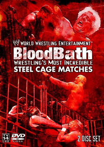 WWE BloodBath Wrestling's Most Incredible Steel Cage Matches Wrestling Steel Cage