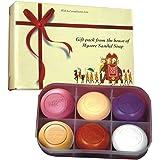 Mysore Sandal Soap Gift Pack, 150g - Pack of 6