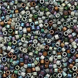 Miyuki Db-mix2411/0métaux lourds Mat 7,2G Delica Graines de perles Mix