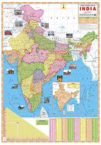 Ibd charts al mejor precio de amazon en savemoney ibd ltima mapa poltico de la india preescolar de doble cara laminado grfico mural color gumiabroncs Image collections