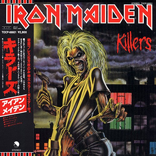 Iron Maiden Killers Japan CD Mini LP OBI, POSTER, JAPAN BOOKLET Remastered
