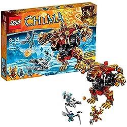 LEGO Legends of Chima - Juguete El oso demoledor de Bladvic (70225)